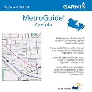 MetroGuide® Canada