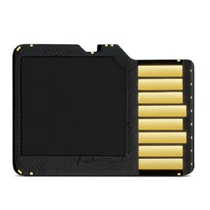 8 GB microSD™ Class 4 Card with SD Adapter