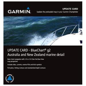 Australia and New Zealand Marine Detail Map g2 Update Card