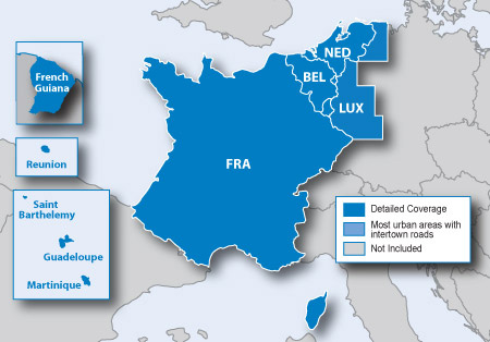 Map Of France And Luxembourg.City Navigator Europe Nt Benelux And France
