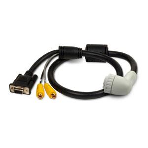 Câble Audio/Video (prise coudée)