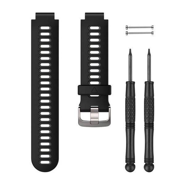 Bracelet de montre (Forerunner® 735XT), Noir/gris