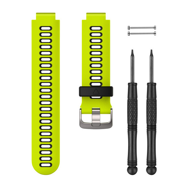Force Yellow/Black Watch Band