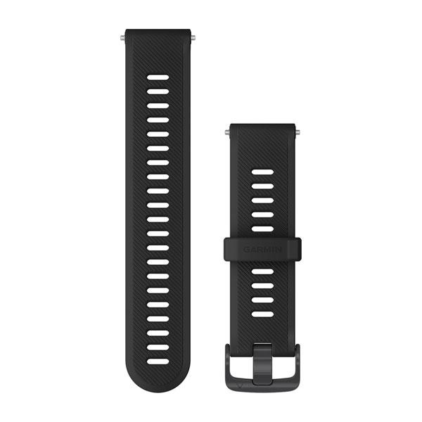 SCHNELLWECHSEL-SILIKON-ARMBAND 22 mm