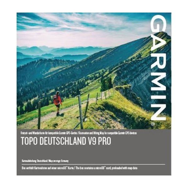 Germany TOPO GPS Map for Garmin Devices