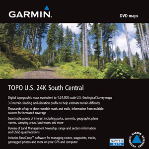TOPO US 24K South Central DVD