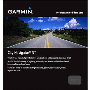 Mapa de África Oriental NT City Navigator®
