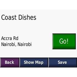 Mapa de África Oriental NT City Navigator® 2