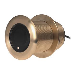 Transductor de montaje a través del casco de bronce inclinado B75M Airmar