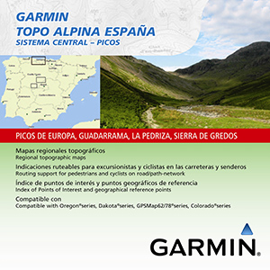 TOPO Alpina España - Sistema Central - Picos