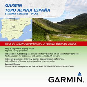 TOPO Alpina Espana: Sistema Central-Picos
