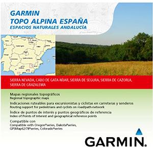 TOPO Alpina España - Espacios naturales de Andalucía