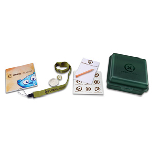 Kit oficial de geocaching