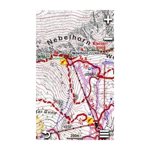 Garmin Alpenvereinskarten v4 5