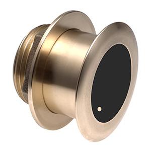 Bronze Tilted Thru-hull Transducer with Depth & Temperature (12° tilt) - Airmar B175L