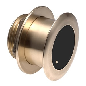 Bronze Tilted Thru-hull Transducer with Depth & Temperature (12° tilt) - Airmar B175M