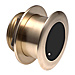 Bronze Tilted Thru-hull Transducer with Depth & Temperature (20° tilt) - Airmar B175M