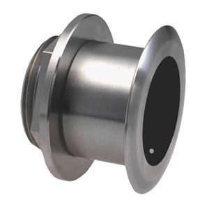 Transductor de montaje a través del casco de acero inoxidable con sensores de profundidad y temperatura (inclinación de 0º, 8 patillas) - Airmar SS164
