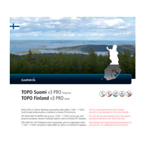 TOPO Suomi Finnlandv3 PRO Pohjoinen