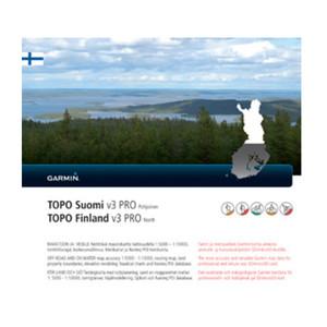 TOPO Finland v3 PRO - Pohjoinen