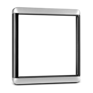Trim Snap Piece Cover - Silver/Black