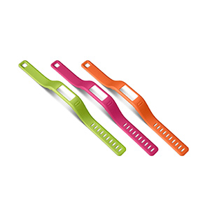 Cinturini vivofit® Arancione/Rosa/Verde