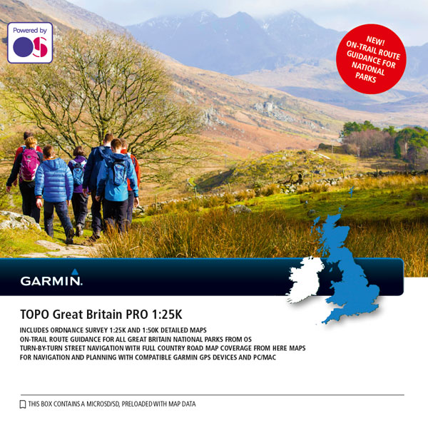 TOPO Great Britain PRO 1:25K