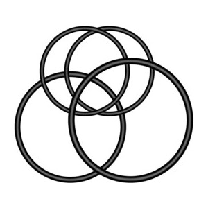 Juntas circulares de soporte de cuarto de vuelta multiubicación para luz trasera Varia™