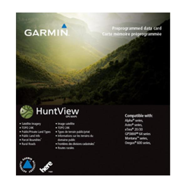 Garmin HuntView™ Maps - Washington