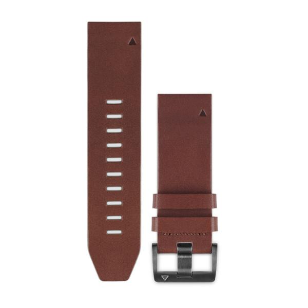 Bracelet QuickFit™ - 22mm - Cuir marron