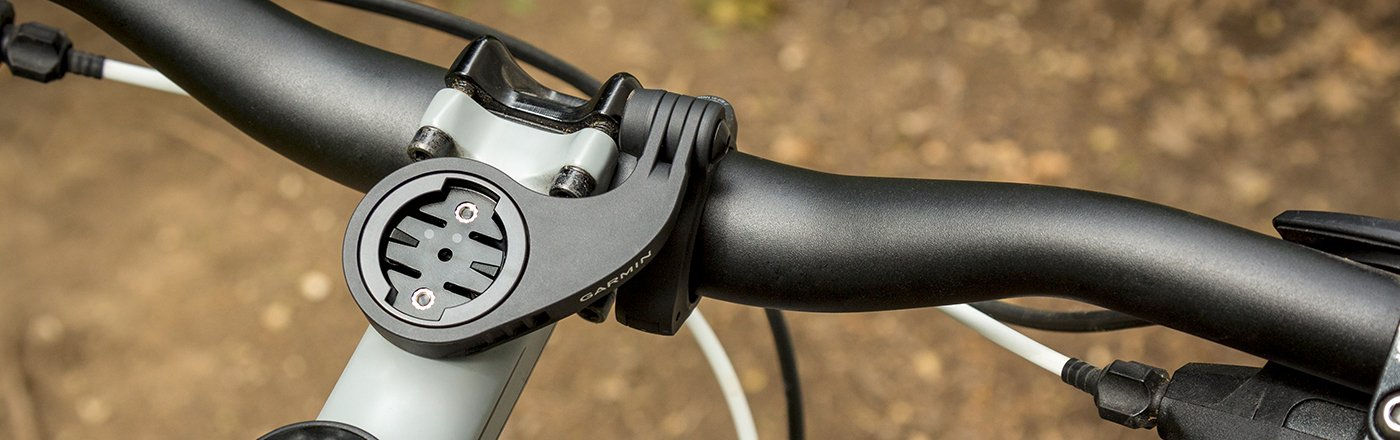 Edge® Mountain Bike Mount on a bicycle.