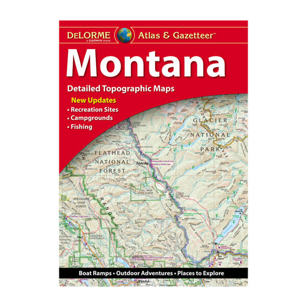 DeLorme® Atlas & Gazetteer Paper Maps