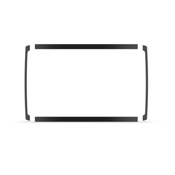 Planmonterings kit Garmin ECHOMAP Plus 7Xcv/7Xsv