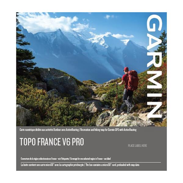TOPO France v5 PRO, Southeast