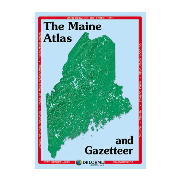 DeLorme® Atlas & Gazetteer Paper Maps