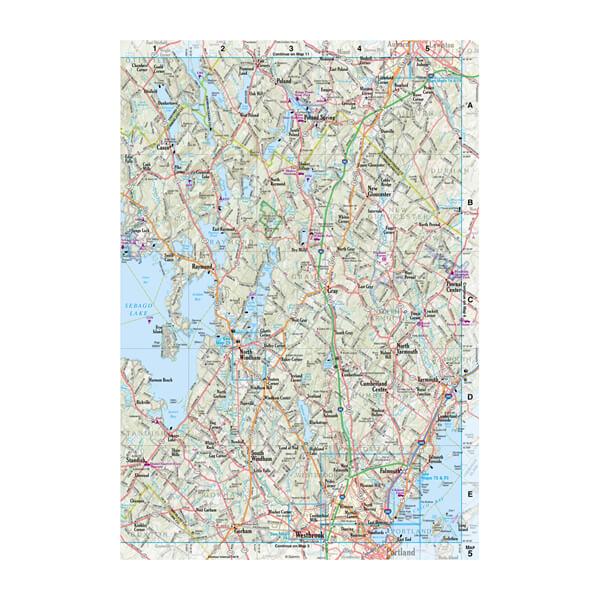 DeLorme® Atlas & Gazetteer Paper Maps 2