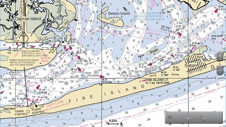 Cartografía Raster de NOAA