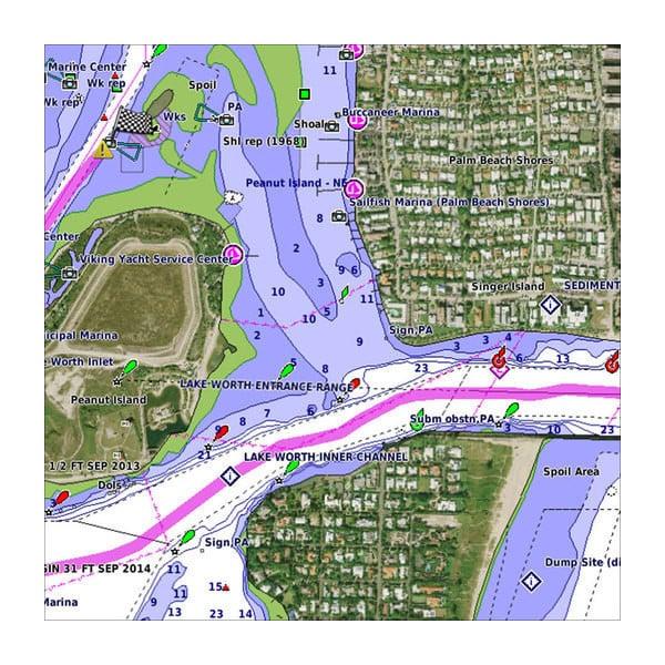 Map Australia 4371.Vca006r P E I Chaleur Bay Garmin