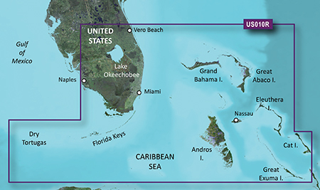 VUS010R - Southeast Florida and Bahamas | Garmin