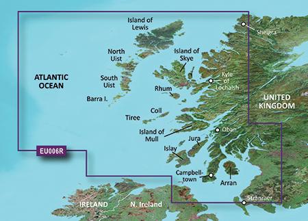 Garmin Map Update >> GARMIN (GB) | Coastal charts | BlueChart g3 Vision