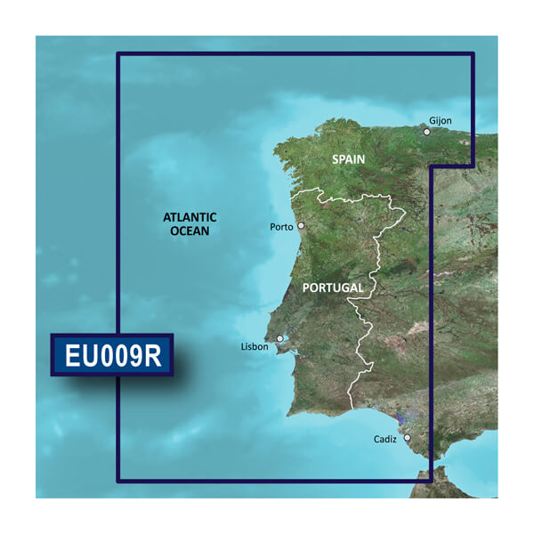 Map Of North West Spain.Portugal Northwest Spain