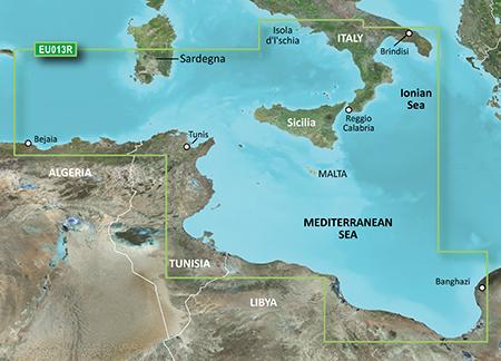VEU013R-Italy Southwest & Tunisia