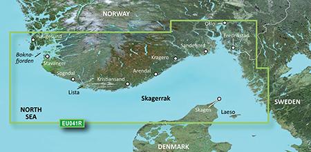 BlueChart® g3 HXEU041R - Oslo-Skagerak-Haugesund