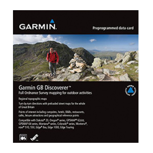 Garmin GB Discoverer 1:25k - Ben Nevis and Glencoe
