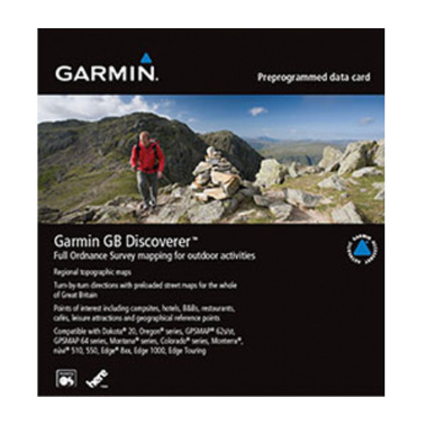 Garmin GB Discoverer 1:25k - Loch Lomond and the Trossachs
