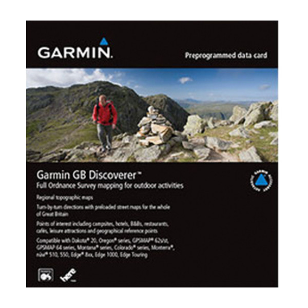 Garmin GB Discoverer 1:25k - The New Forest and South Downs