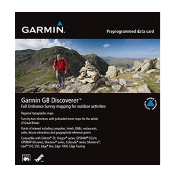 Garmin GB Discoverer 1:25k - Peak District