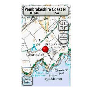 Garmin GB Discoverer: parcs nationaux de Grande-Bretagne à l'échelle 1:50000 3