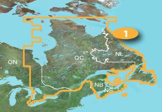 Quebec Topographic Map.Topo Canada East Garmin