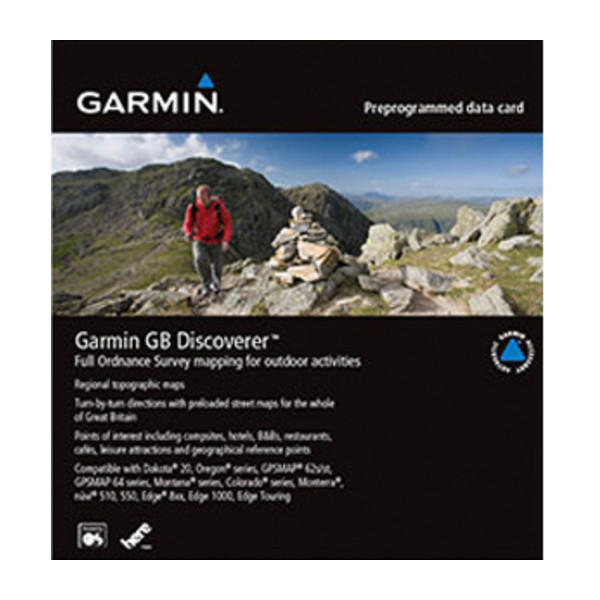 Garmin GB Discoverer 1:50K – Northern England and Midlands